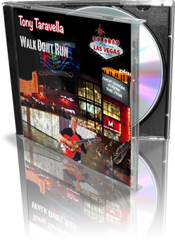 Tony Taravella Walk Don't Run Album Cover