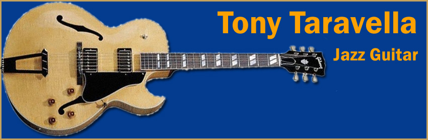 Tony Trarvella Jazz Guitar